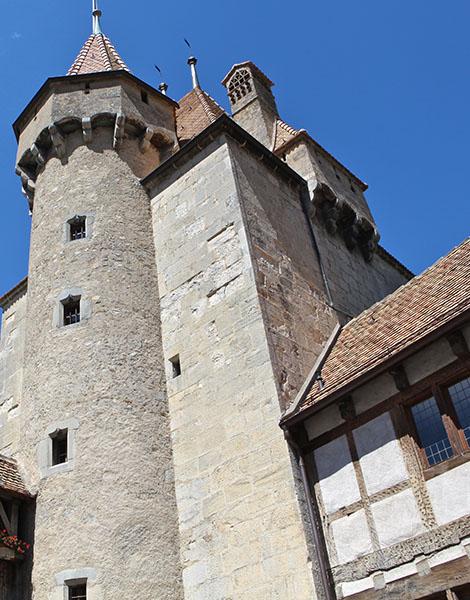 Château d'Aigle - cours du Château