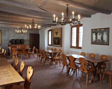 Location salle du Château - Salle des Audiences