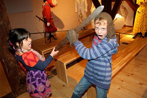 Activités pour enfants au Château d'Aigle
