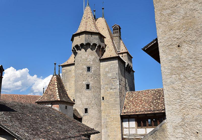 Donjon du Château d'Aigle