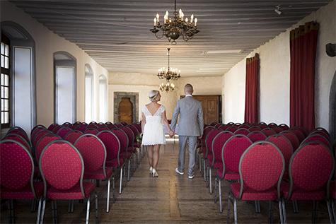 Mariage au Château d'Aigle