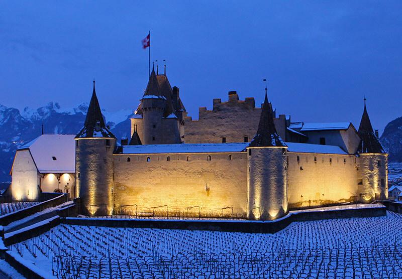 Le Château en hiver