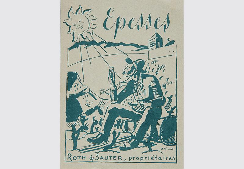 étiquette vin - Charles Clément