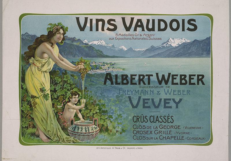 Affiche publicitaire - fin 19e siècle