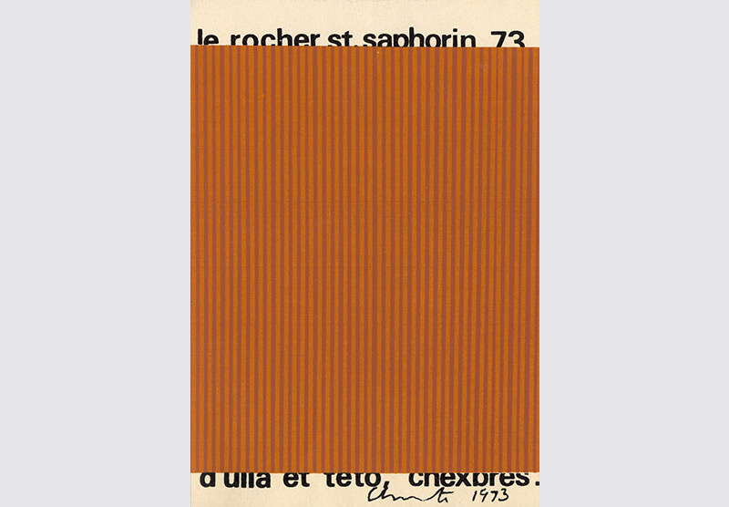 Saint-Saphorin Christo 1973