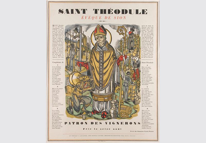 Saint Théodule par Paul Boesch