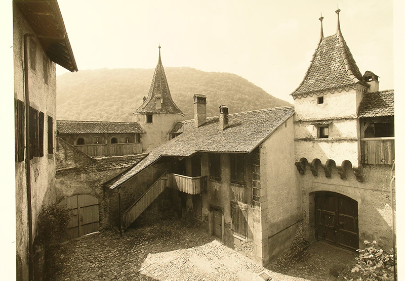 1970 - Bâtiment d'accueil