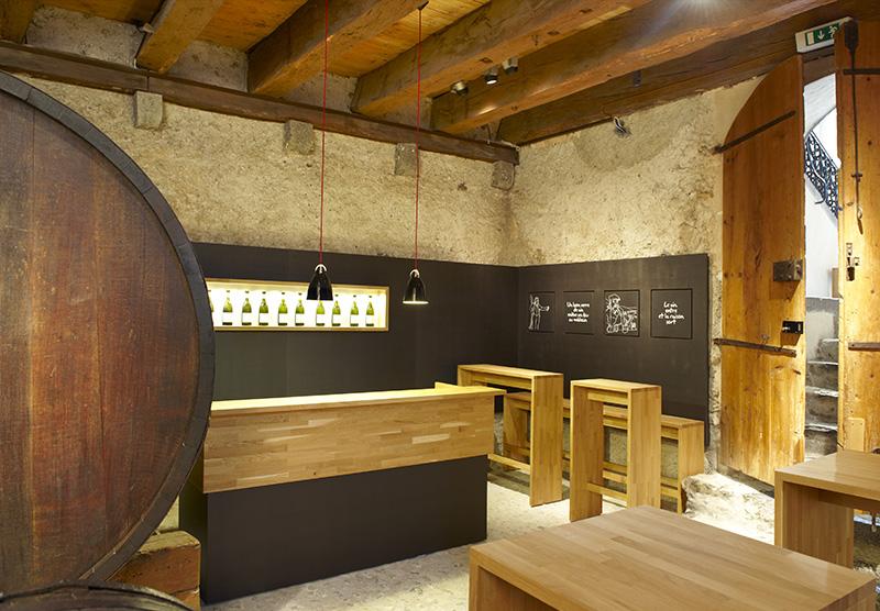 Cave du Musée de la vigne, du vin, de l'étiquette