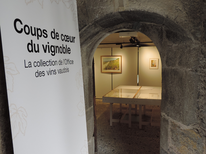 Exposition - Collection de l'Office des vins vaudois